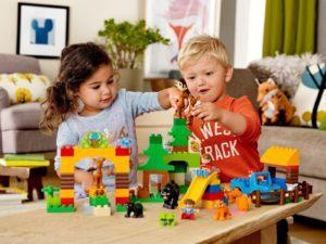 Lego Duplo: особенности серии