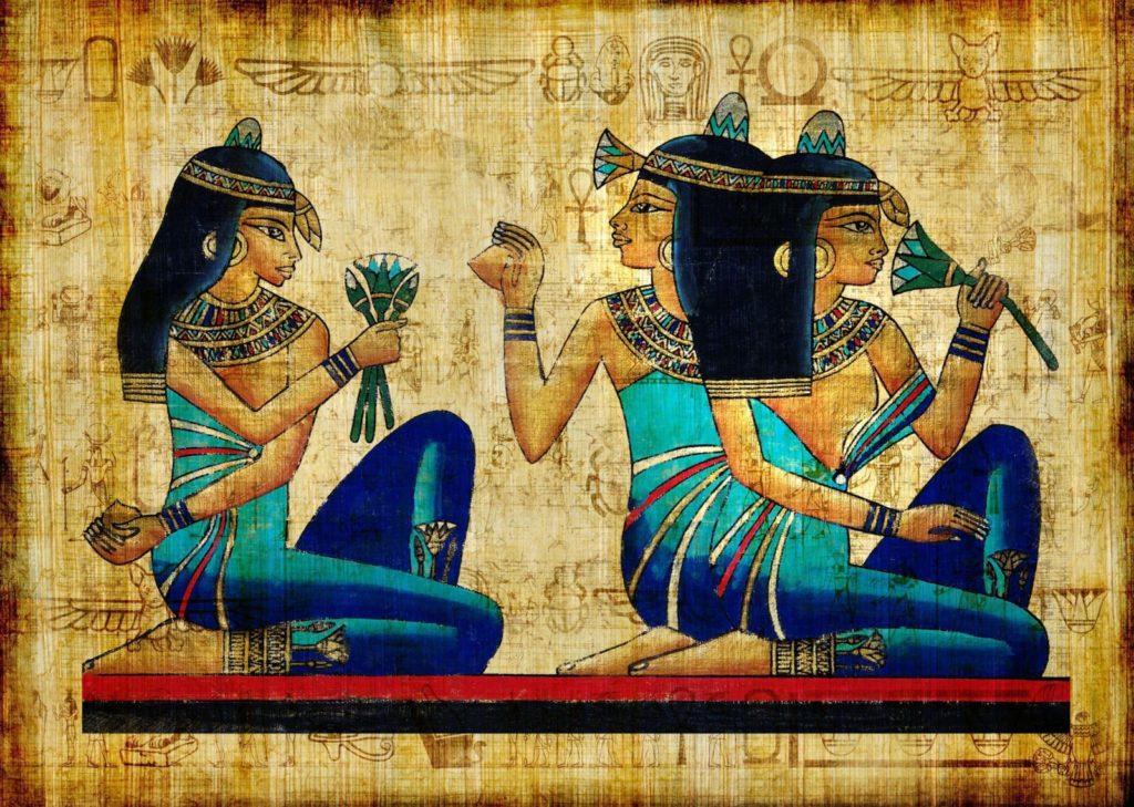 egipet risunok drevnost 1024x729 - 37 интересных фактов о Древнем Египте