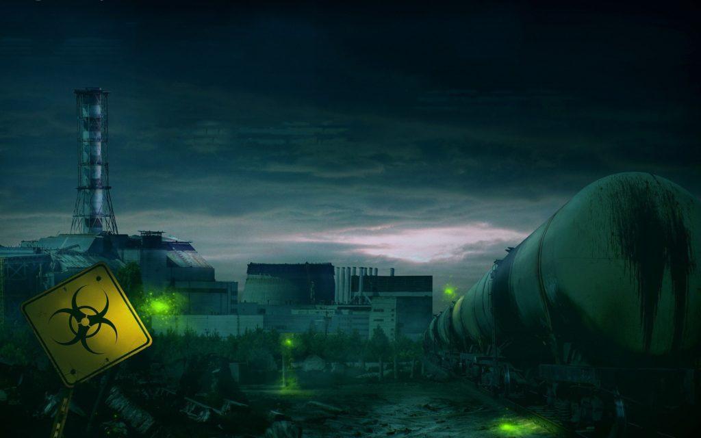 www.getbg .net fantasy green lights in the chernobyl zone 102910  1024x640 - 22 интересных факта о радиации